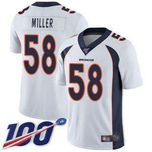 Broncos Von Miller 100th Season Jersey 3